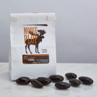 Moose Plop chocolate covered almonds