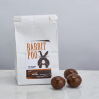 Rabbit Poo milk chocolate pretzel balls